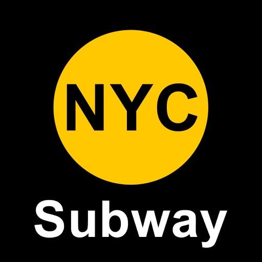 ニューヨークの地下鉄 乗換案内