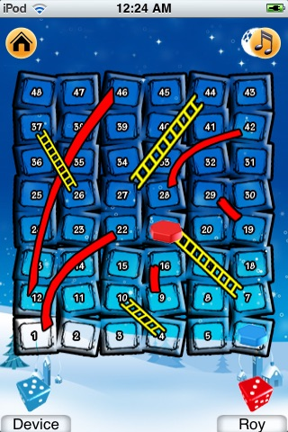 Chute and Ladder - iPhone Version screenshot 3
