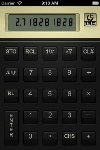 HP 12C Financial Calculator screenshot 2
