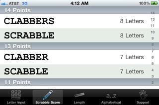 Words a Word Finder f... screenshot1