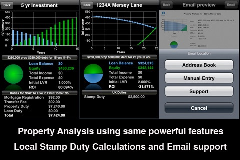 iHome - Loan, Mortgage and Property Tools screenshot 2