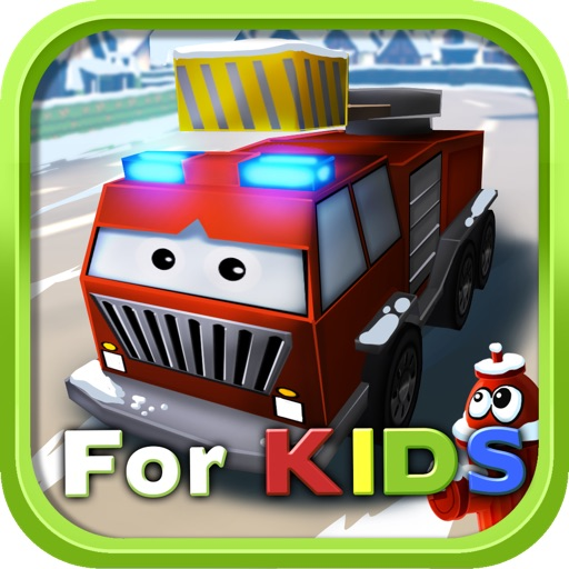 Little Fire Truck in Action - for Kids iOS App