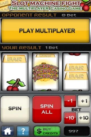 Slot Machine Fight , The multiplayer casino game screenshot 4