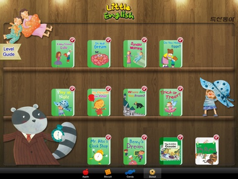 "두산동아 ""Little English"" for iPad screenshot 1"