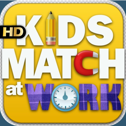 Kids Match Vehicles At Work HD iOS App