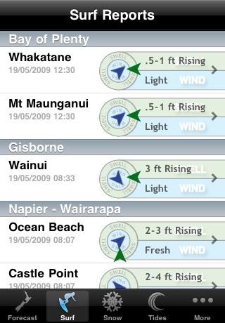 WeatherNZ screenshot three