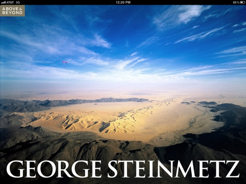Above & Beyond: George Steinmetz screenshot 1
