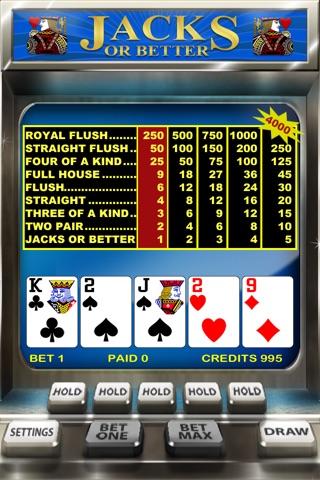 Video Poker screenshot 1