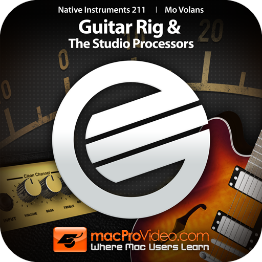 Course For NI Guitar Rig and The Studio Processors