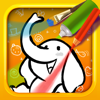Color & Draw for kids HD: 4 apps in 1 - Coloring Book for iPad
