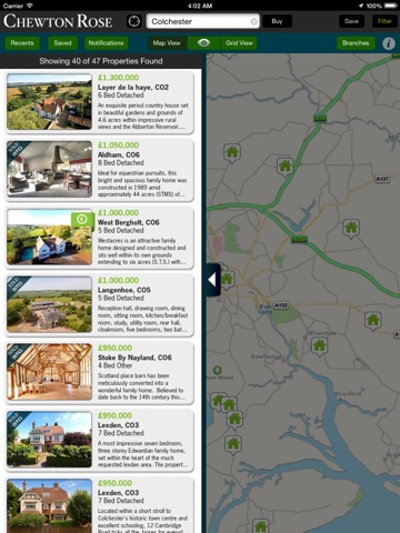 Chewton Rose Property Search - For iPad screenshot 1