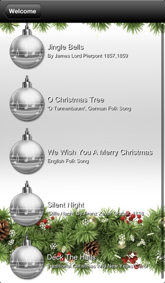 Ukulele Learning Christmas Playalongs Screenshot