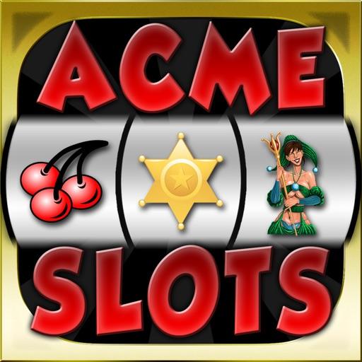 Acme Slots Machine Mega - Bonus Wheel and Multiple Paylines Edition Games iOS App