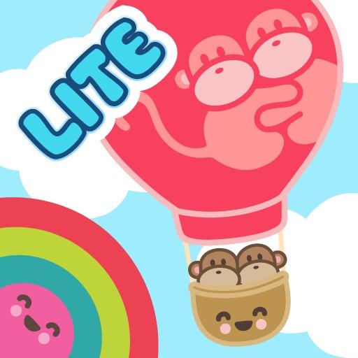 Kiwi and Pear's Balloon Adventure Lite iOS App