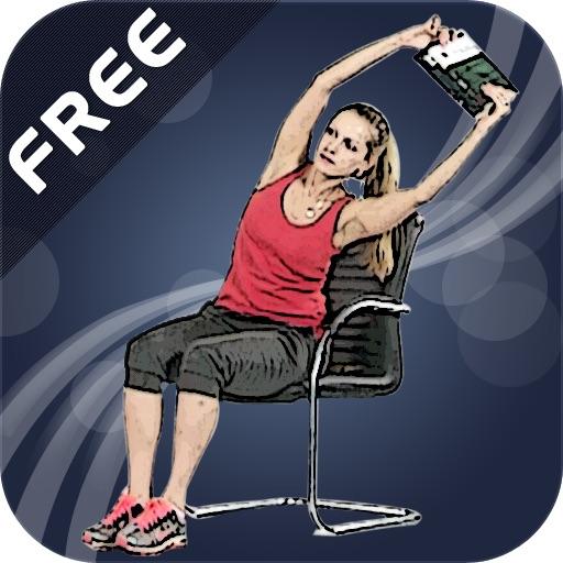 exercices de gym femme au bureau free dans l app store. Black Bedroom Furniture Sets. Home Design Ideas