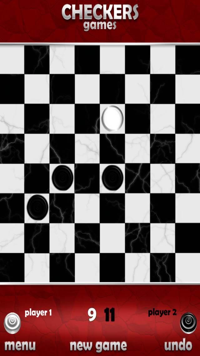 Screenshot of Gratuita Checkers gioco5