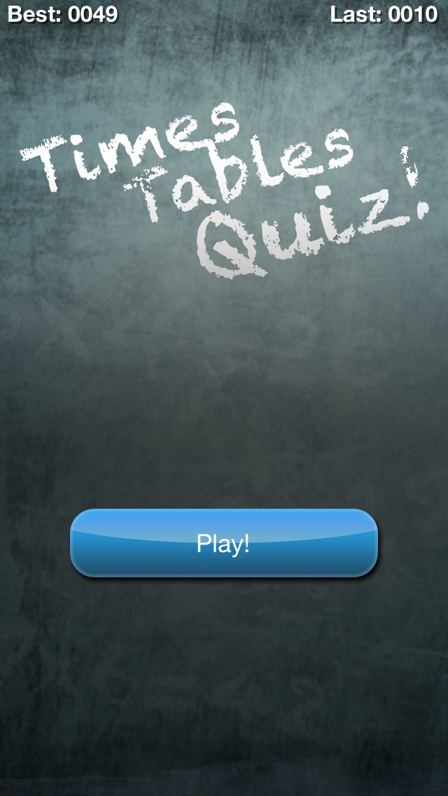Times Tables Quiz (multiplication Trainer) review screenshots
