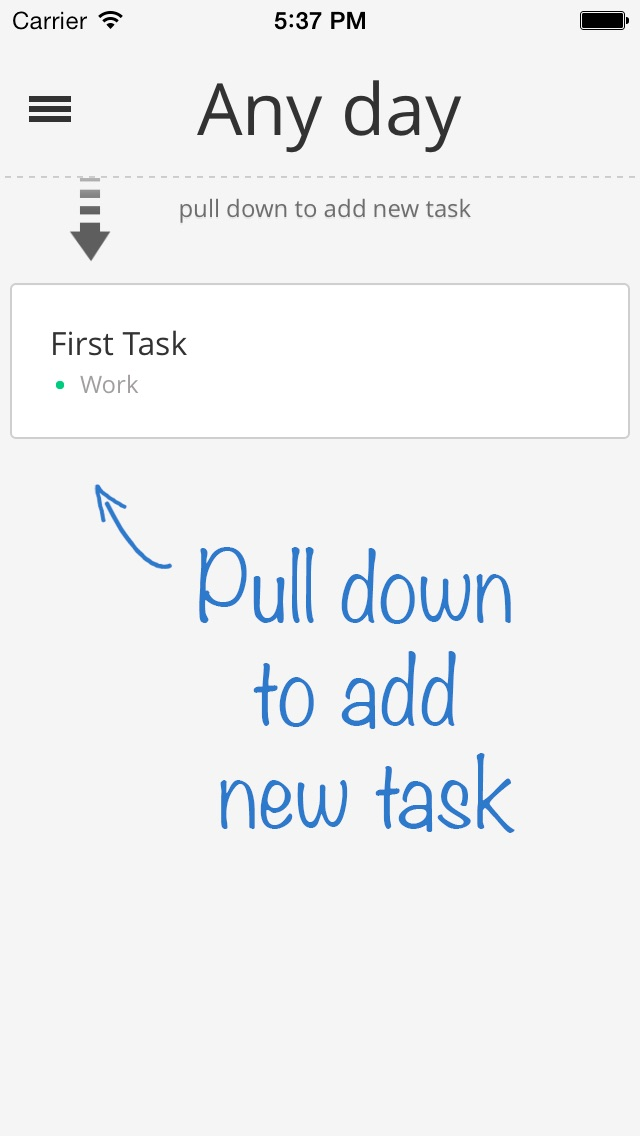 Screenshot #2 for Specifics - Notetaker and Task Manager