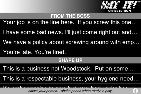 Say It! - Digital Lips - Office Edition screenshot 2