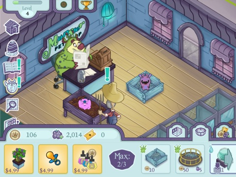 Screenshots of Monster Pet Shop for iPad