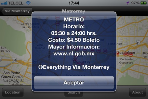 Via Monterrey Free screenshot 2