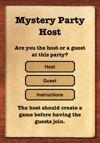 Mystery Party Host screenshot 1