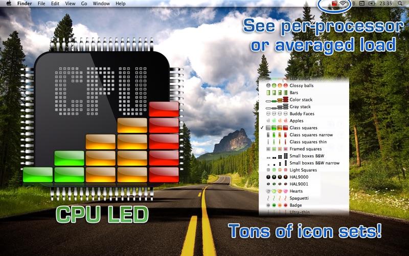 CPU LED Screenshot