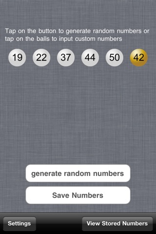 Lottery Helper Free screenshot 1
