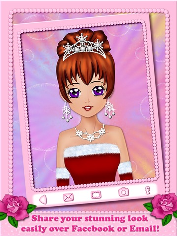 Screenshots of Make Up Makeover Dress Up Star Model Popstar Girl Beauty Salon - free educational makeup games for girls loving fashion in anime style for iPad