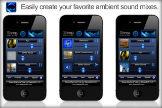 Screenshots of Sleep Machine Lite for iPhone