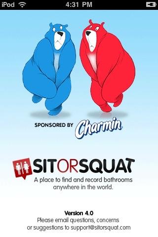 SitOrSquat: Bathroom Finder screenshot 1
