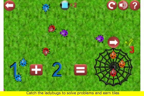 Ladybug Math screenshot 2