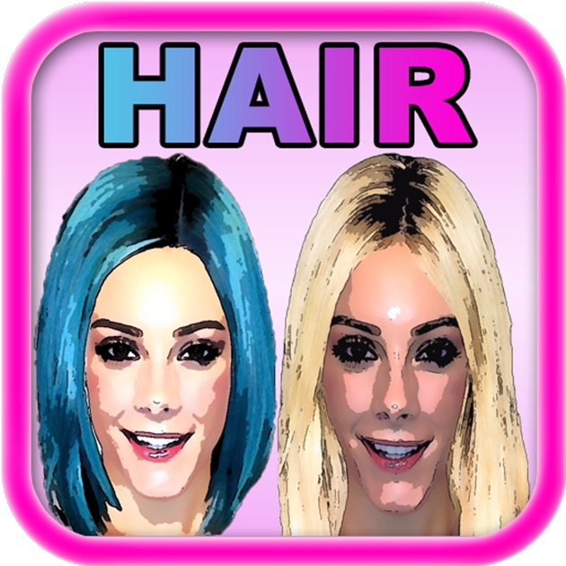Makeover App Try On Celebrity Hairstyles And Discover A New - Hairstyles changer app