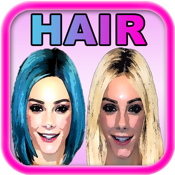 Makeover App - Try on 500 celebrity hairstyles and discover a new look icon