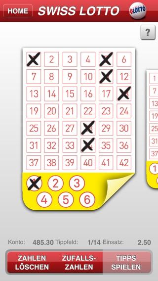 Swiss Lotto App
