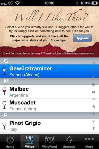 Wine Navigator® Free Скриншоты4