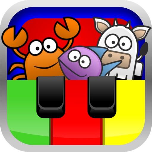 Bébé Piano Musique Magique : Apprendre les nombres, les couleurs et chanter iOS App