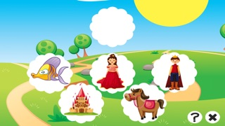 Screenshot of Cosa C'è di Sbagliato Nel Fairy Tale World? Trova Gli Errori! Formazione Libero Gioco Para Bambini1