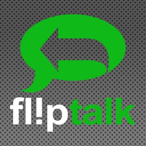 FlipTalk - Talk Backwards. Laugh. Have Fun! iOS App