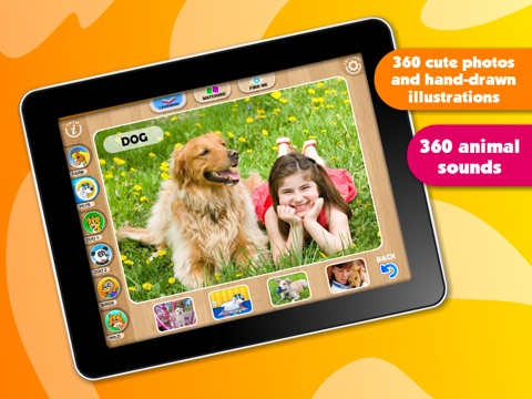 Abby Monkey® Baby Zoo Animals: Preschool activity games for children screenshot 2