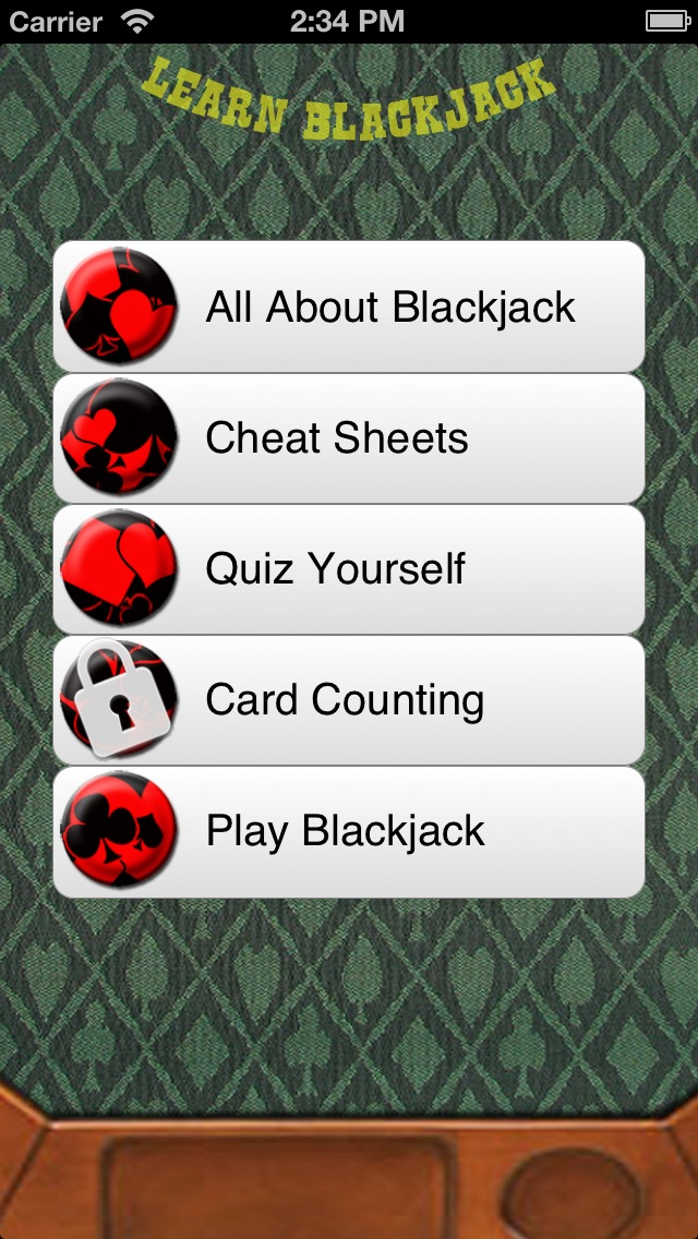 Learn Blackjack - How To Play And Win Blackjack At Home Or In Vegas Screenshot