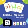 Korean Alphabet Basic Syllable
