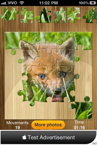 Bright puzzles: Puppies Lite screenshot four
