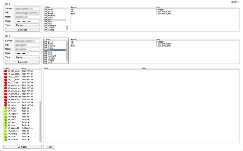 System-i DBcompare for Mac