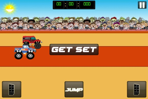 Monster Jam - Dirt Track Truck Racing Game Free screenshot 2