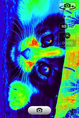 thermal camera & infrared camera free app report on mobile