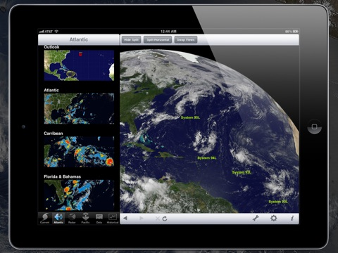 NOAA Hurricane Center HD screenshot 4