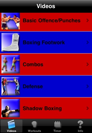 MyBoxing Trainer Lite screenshot 2