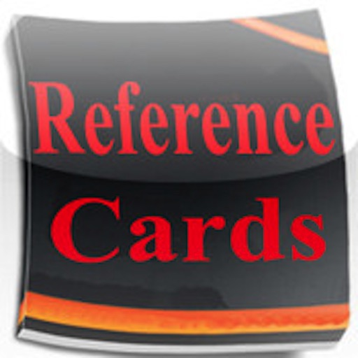 Reference Cards iOS App