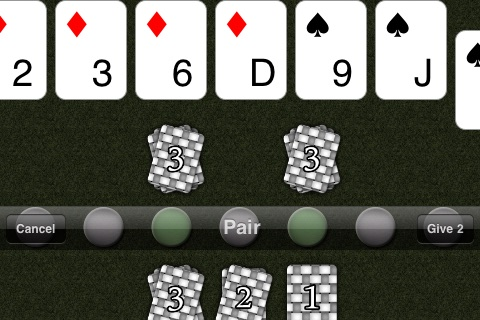 7 Hand Poker screenshot 3